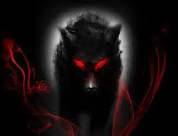 perro ojos rojos
